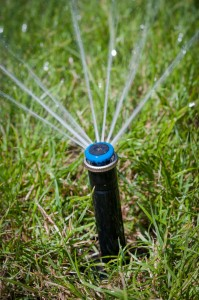 Water Conservation sprinkler heads fixed with sprinkler repair in Elk Grove, CA