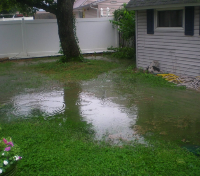 Flooded Yard - Low flow Sprinkler Pros